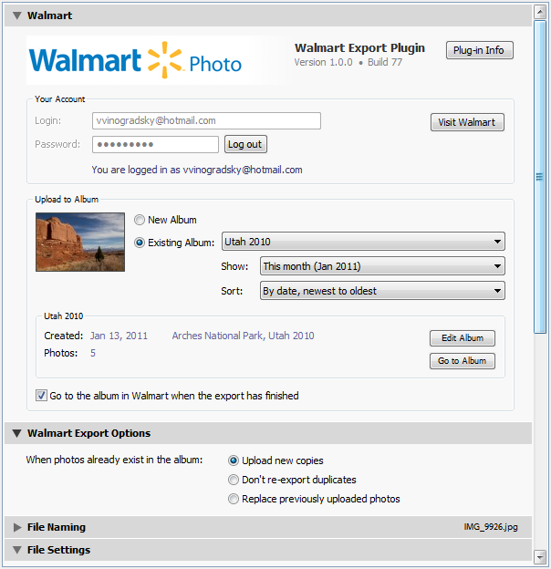 The Export To Walmart Plug In Allows You And Publish Photos From Adobe Lightroom Directly Digital Photo Service US